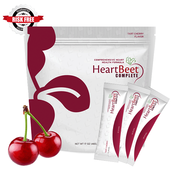 1 Large Bag of HeartBeet Complete® with the Gaurantee badge risk free