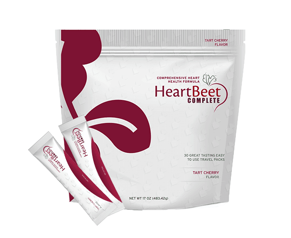 Single bad of HeartBeet Complete | Beetroot powder Tart Cherry Flavor