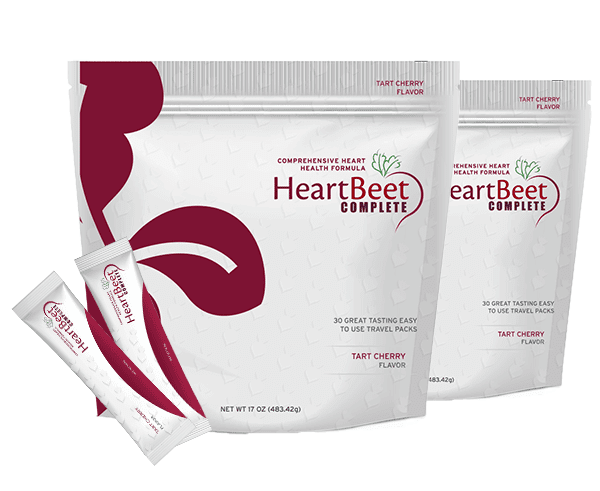 Two bags of HeartBeet Complete® | Tart Cherry Flavor