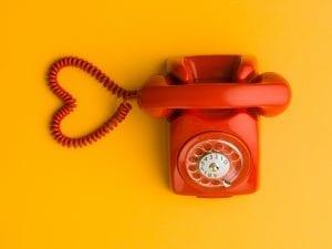 love is one phone call away
