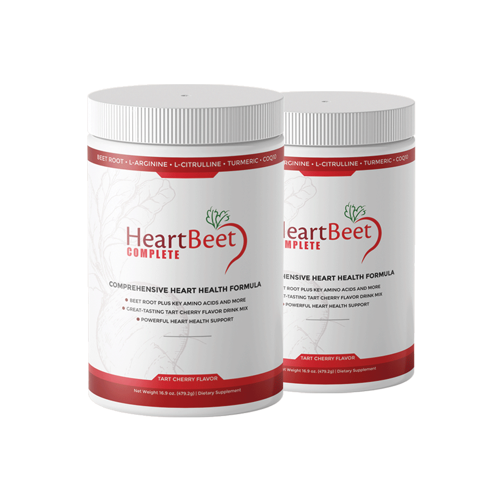 2 Bottles of HeartBeet Complete