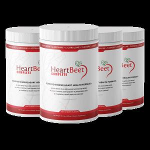 4 Bottles of HeartBeet Complete